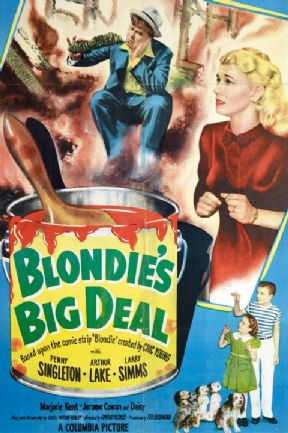 Blondie's Big Deal 1949 DVD - Penny Singleton / Arthur Lake